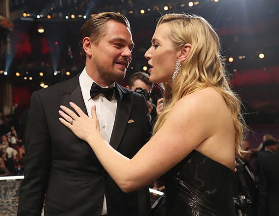 11. Oscar 2016: Leonardo DiCaprio e Kate Winslet
