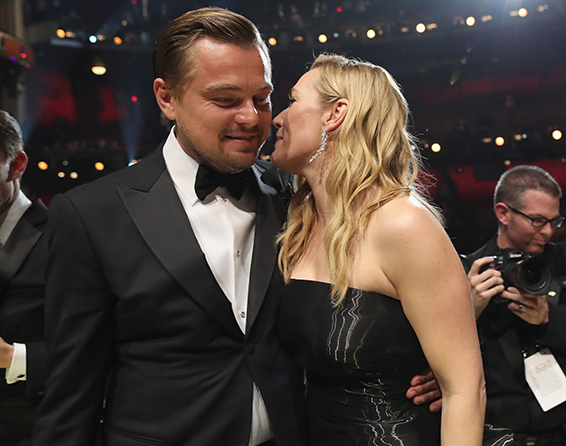 12. Oscar 2016: Leonardo DiCaprio e Kate Winslet