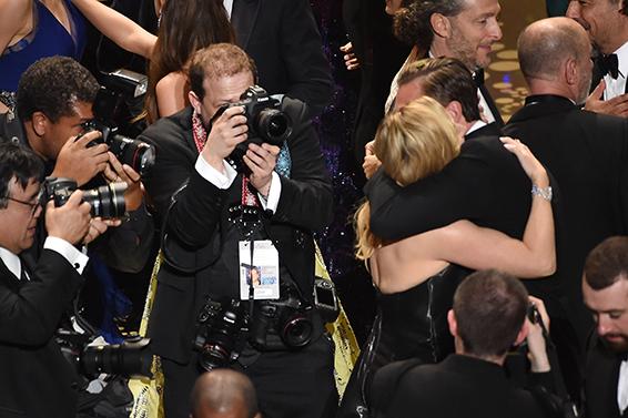 08. Oscar 2016: Leonardo DiCaprio e Kate Winslet