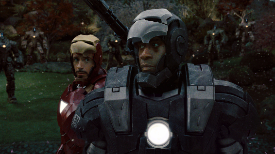 War Machine in Iron Man