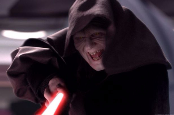 Imperatore Palpatine in Star Wars