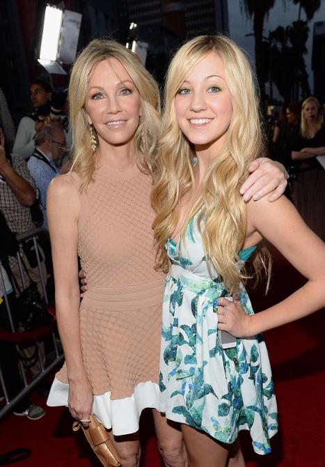 Heather Locklear e Ava Sambora