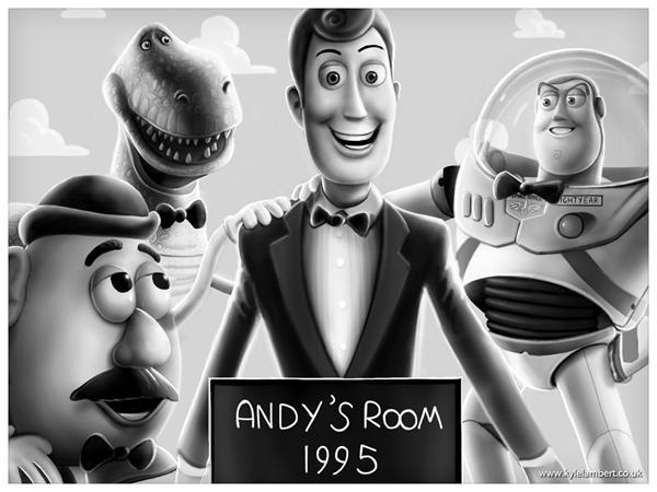 Toy Story - Shining 25