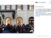 Zoolander 2, Ben Stiller e Owen Wilson in vetrina da Valentino a Roma (6)