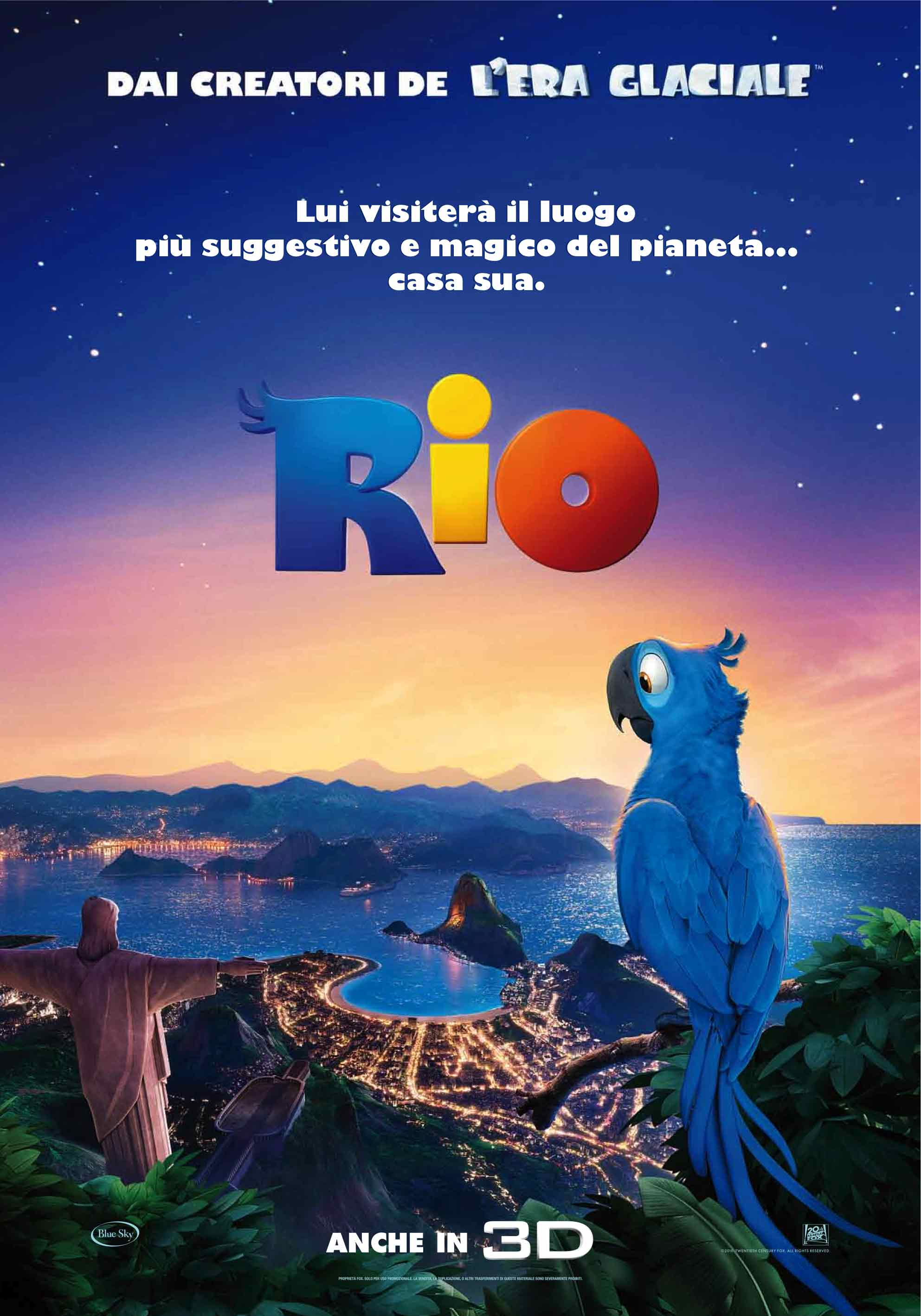 Rio le voci italiane del cartoon best movie