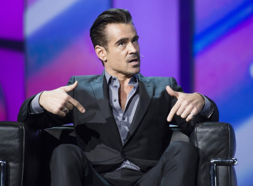 """Colin Farrell ha più volte confessato di cominciare il primo giorno di riprese di un film con lo stesso paio di boxer: """"Hanno una fa..."""