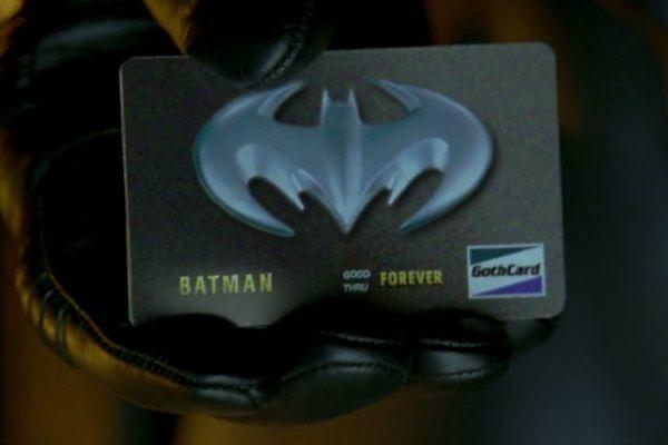 BATMAN & ROBIN - LA BAT CARTA DI CREDITO: L'idea di una carta di credito personalizzata di Batman è stata una delle decisioni ch...
