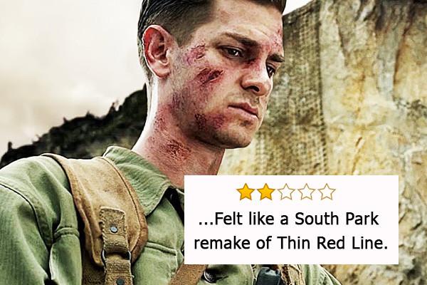 La battaglia di Hacksaw Ridge, Oscar per il miglior montaggio e il miglior sonoro - «Sembrava un remake di La sottile linea rossa in stil...