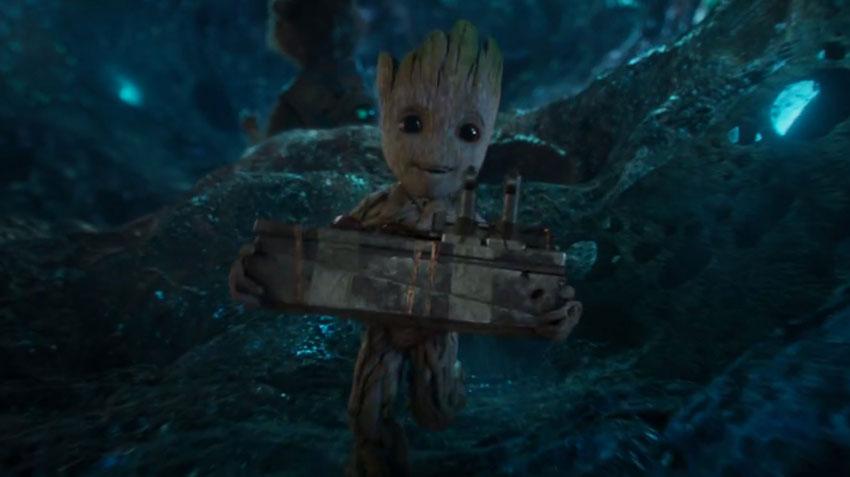 Baby Groot - «E ovviamente del rapporto di tutti con Baby Groot visto che sono i peggiori genitori dell'intera Galassia! Chi altro p...