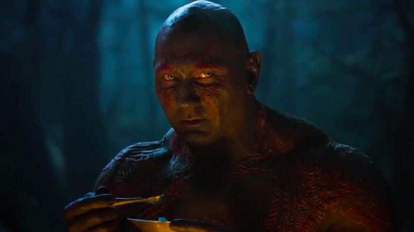 Drax - «Ci sarà molto del rapporto tra Dave Bautista e Mantis, insieme, perché diventano molto amici. Per lui lei è una figlia surrogata ...