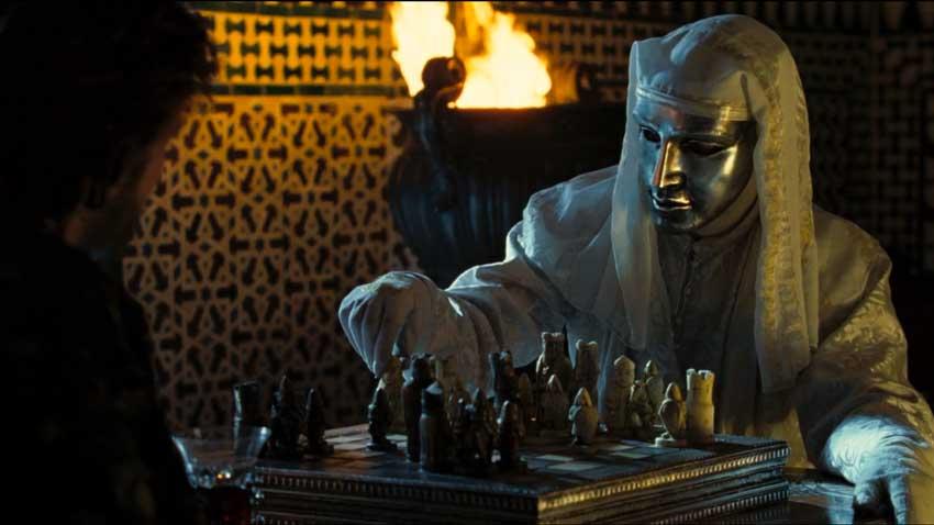 Le crociate - Kingdom of Heaven - Edward Norton aveva il ruolo del re lebbroso Baldovino IV nel film di Ridley Scott del 2005, ma visto c...