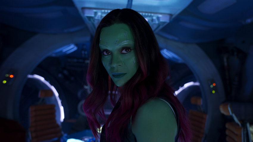 Gamora -  «Si tratta del rapporto di Nebula con la sorella, Gamora, e non è di certo solo quello che abbiamo visto nel primo film. È molt...