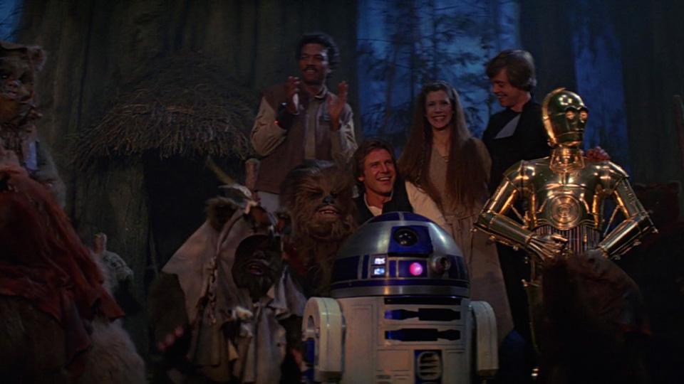Il ritorno dello Jedi - Secondo il produttore Gary Kurtz, la prima versione della sceneggiatura del film del 1983 includeva la morte di H...