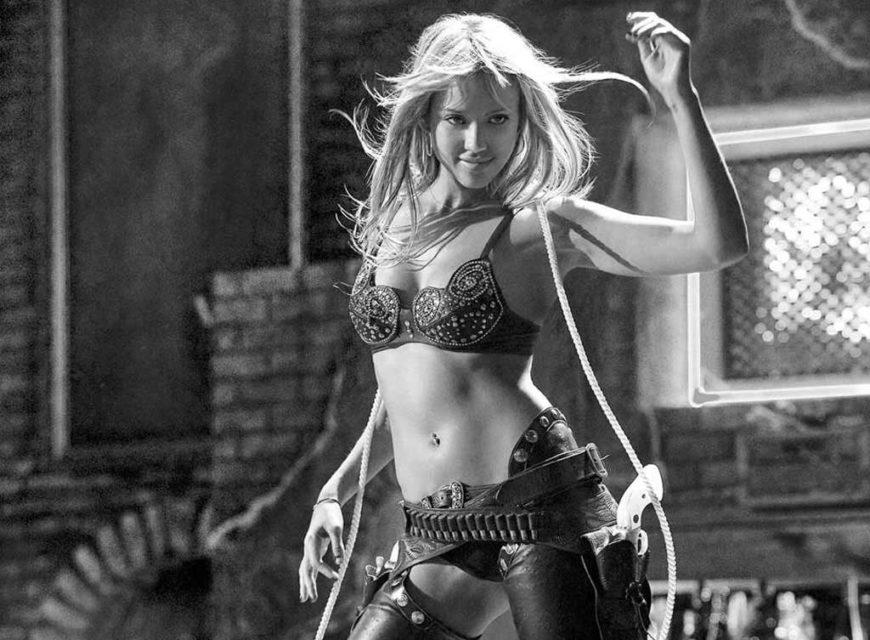 Jessica Alba - La sexy Nancy Callahan di Sin City... indimenticabile!
