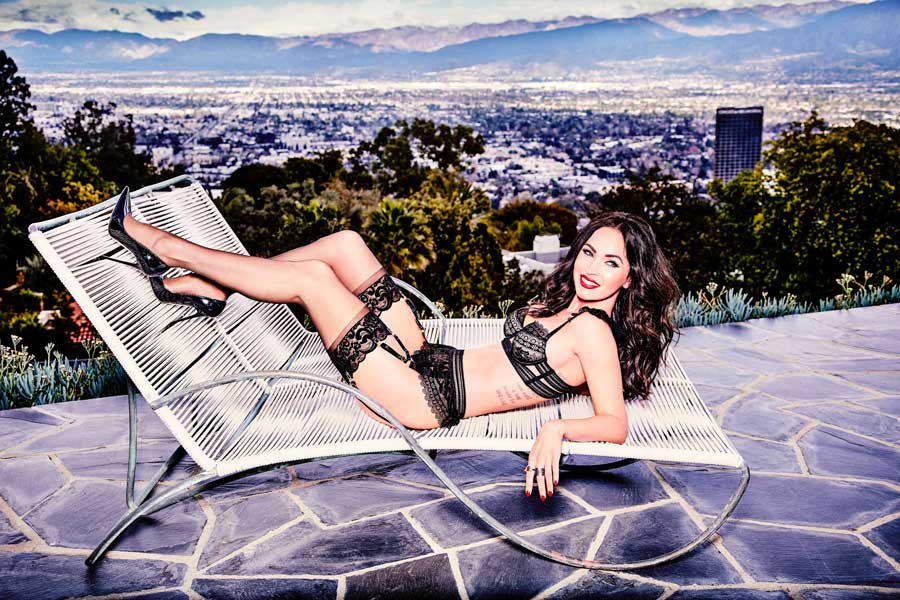 Megan Fox per Frederick's of Hollywood (3)