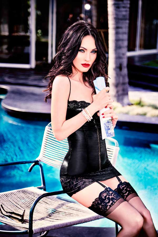 Megan Fox per Frederick's of Hollywood (4)