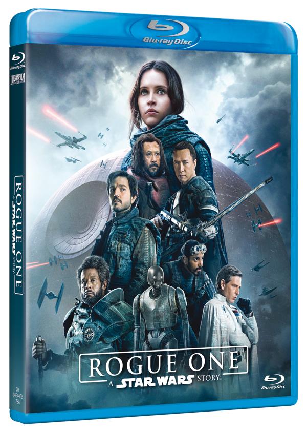 il blu-ray di Rogue One