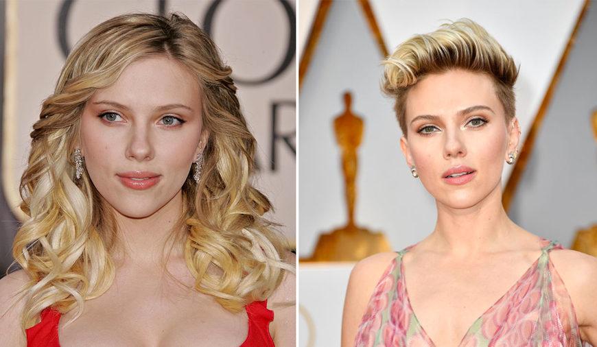 Scarlett Johansson ha ceduto al taglio corto durante la gravidanza nel 2014 e non lo ha ancora abbandonato.