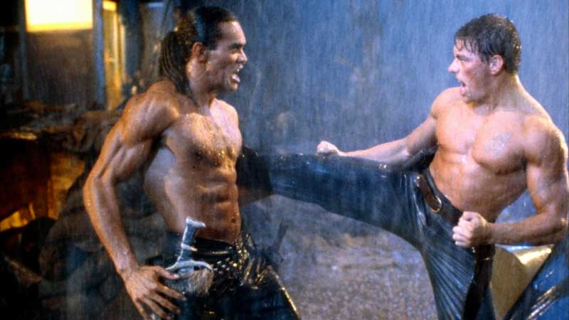 Jackson 'Rock' Pinckney - Durante le riprese di una scena di lotta di Cyborg, Jean-Claude Van Damme ha accidentalmente pugnalat...