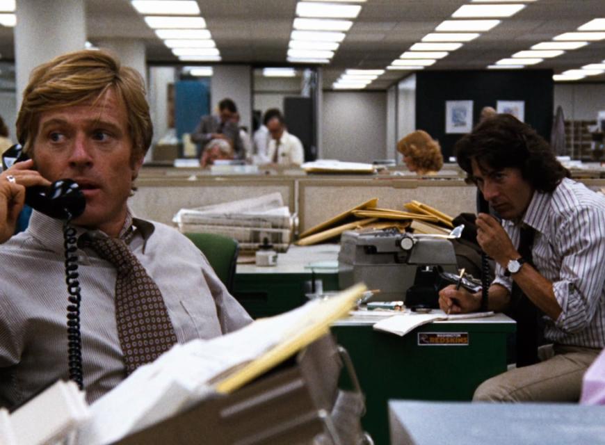 Tutti gli uomini del presidente - Il film ricostruisce lo scandalo Watergate basandosi sul lavoro di due giornalisti del Washington Post,...