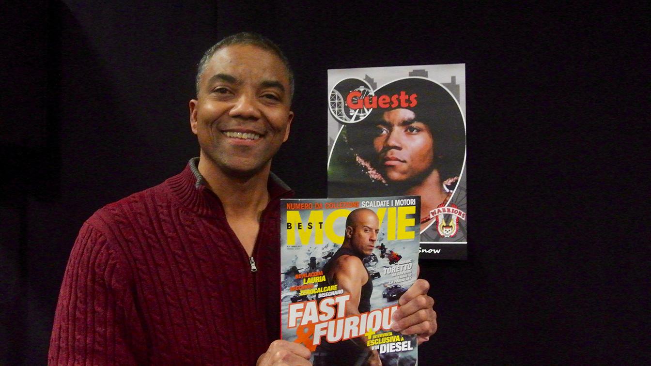 Brian Tyler (Snow), anche lui con il nostro magazine di cinema