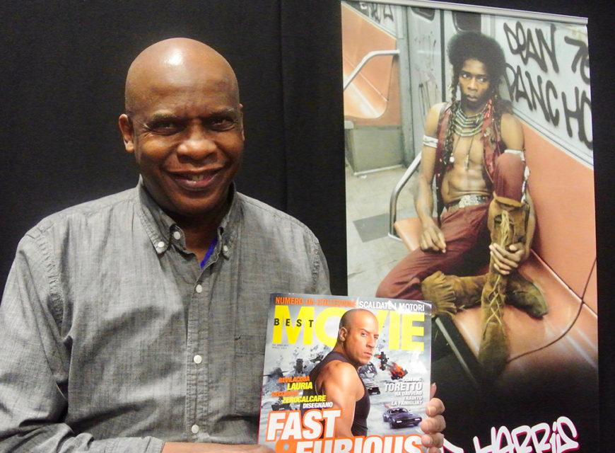 Anche David Harris (Cochise) con in mano il nostro magazine