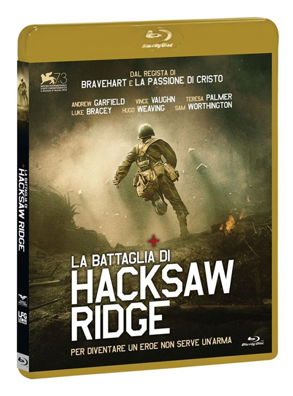 Hacksaw Ridge blu ray