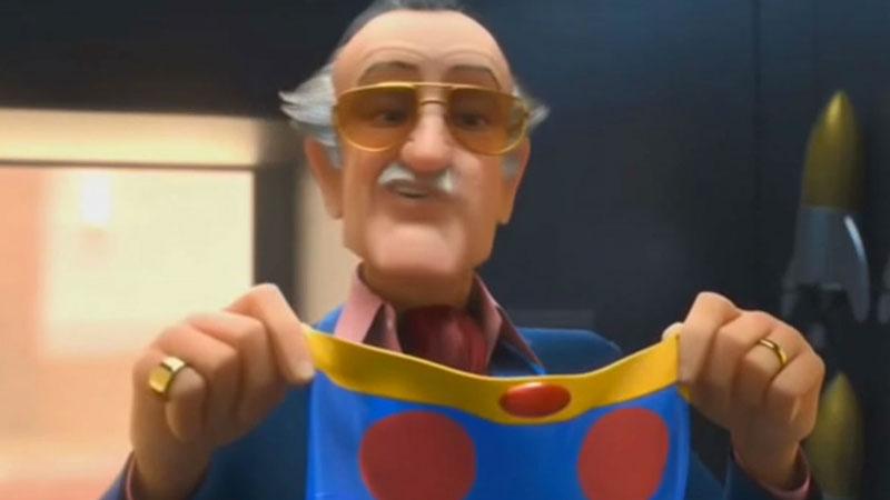 Big Hero 6 - Il Re dei cameo Stan Lee non si è limitato a comparire nei film Marvel, ma ha dato il volto anche al papà di Fred, il nerd d...