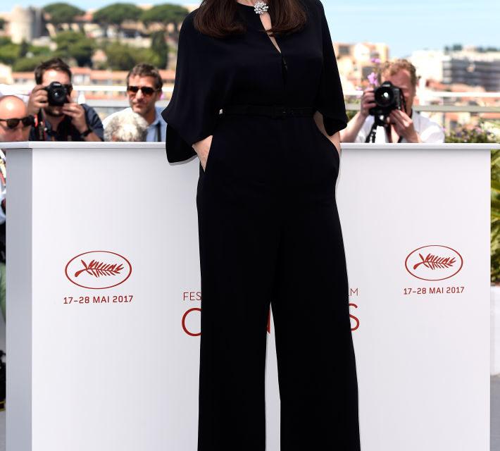 Monica Bellucci - La madrina della manifestazione si è presentata al primo photocall pomeridiano con una jumpsuit nera firmata Stella McC...