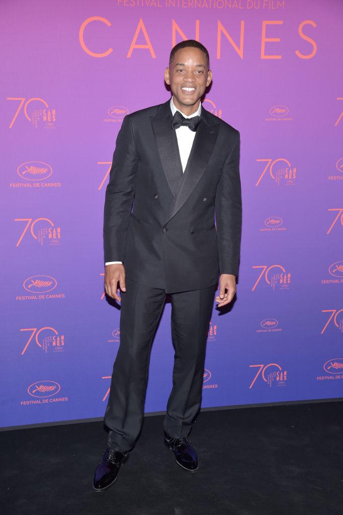 Will Smith - Elegantissimo in smoking doppio petto. Voto: 9