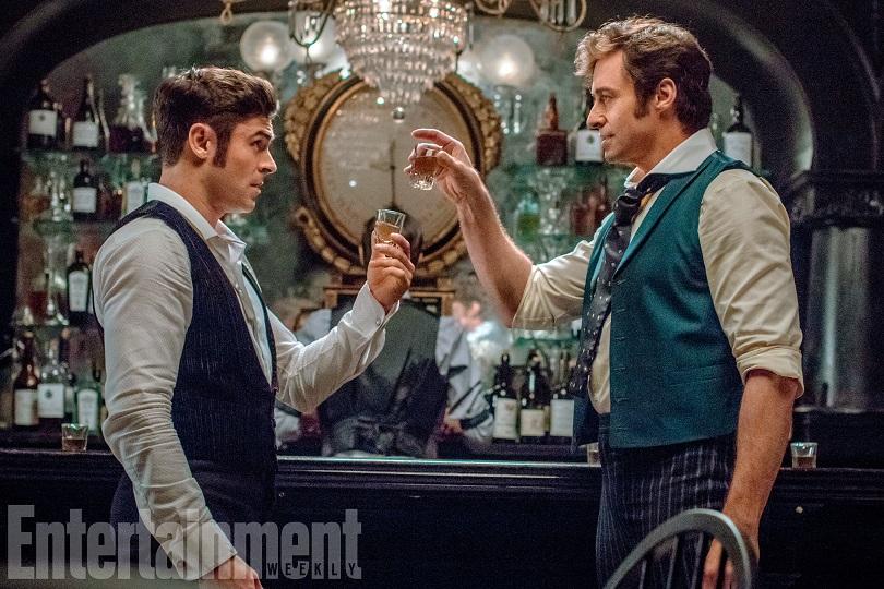 Zac Efron e Hugh Jackman