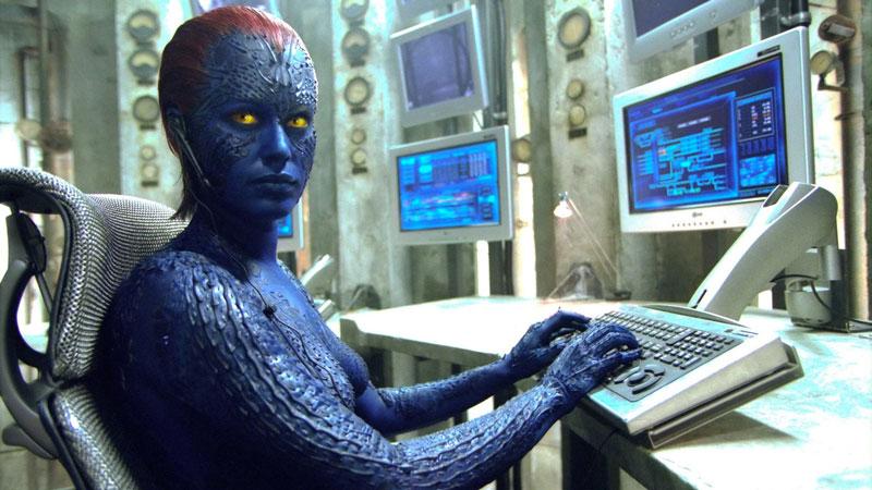 Rebecca Romijn e Jennifer Lawrence - Mystica sarà pure in grado di trasformarsi istantaneamente in chi vuole, ma trasformarsi nella mutan...