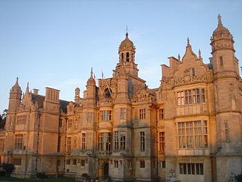 Haunting - Harlaxton Manor, Lincolnshire, UK